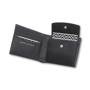 Robert Slivchak Fold Over Wallet with Snap Pocket