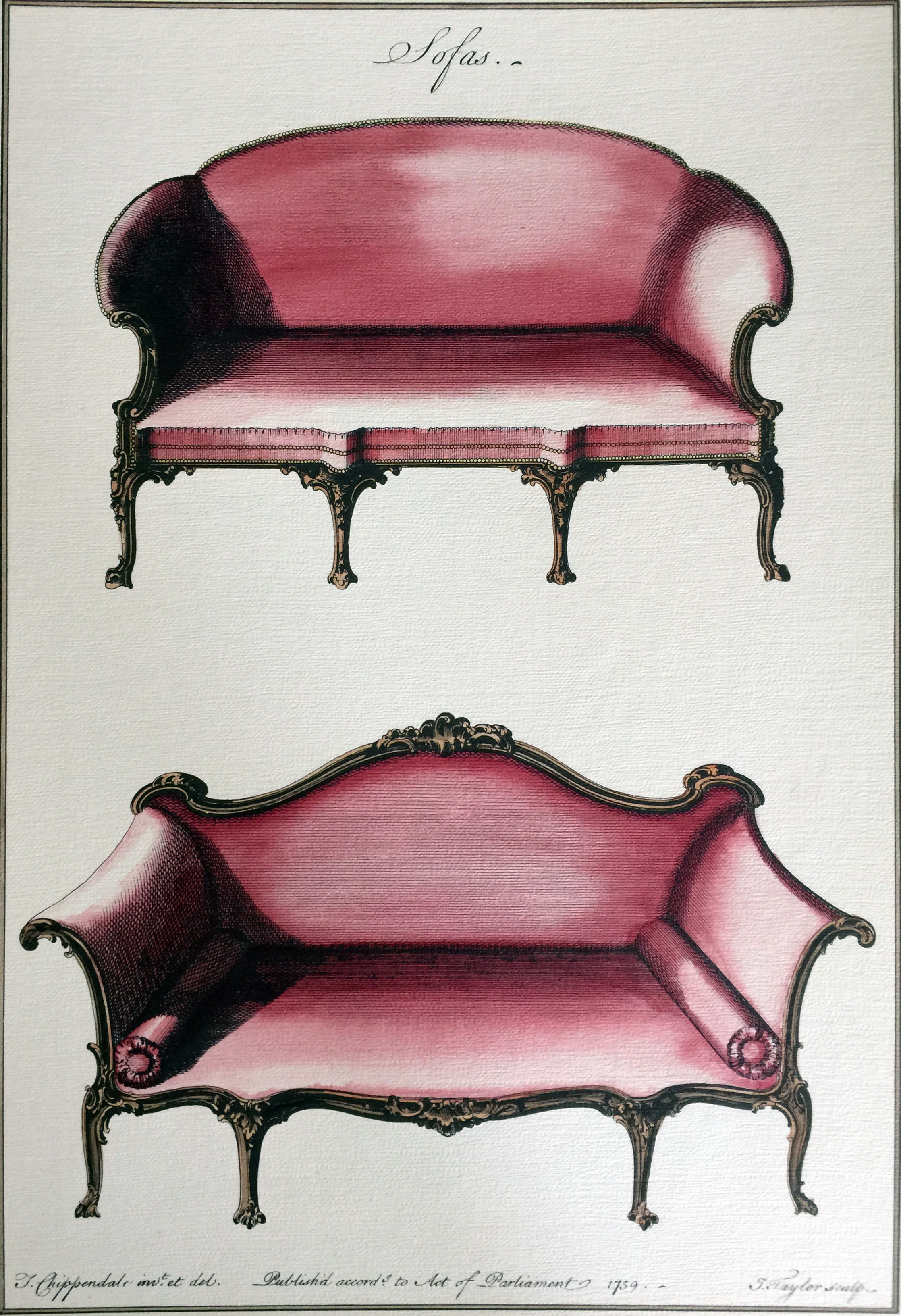 Thomas Chippendale Sofas